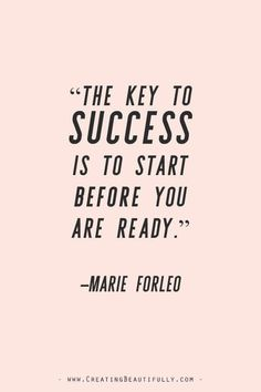Inspiring Quotes from Powerful Women Entrepreneurs on CreatingBeautiful. - Inspiring Quotes from Powerful Women Entrepreneurs on CreatingBeautiful. Inspiring Quotes from Powerful Women Entrepreneurs on CreatingBeau. Marie Forleo, Some Inspirational Quotes, Inspiring Quotes About Life, Quotes Positive, Inspiring Quotes For Women, Positive Business Quotes, Quotes About Success Business, Quotes About Career, Cute Quotes About Happiness
