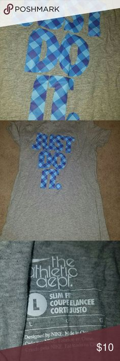 Women's Just Do It shirt Gently worn Fits tightly ask any questions! Nike Tops Tees - Short Sleeve