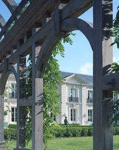 Inverness Pergola - Curtis & Windham Architects, Inc.
