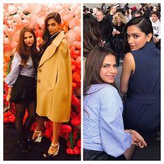 Deepika Padukone, Priyanka Chopra at New York Fashion Week 2017