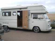 Kombi Trailer, Kombi Motorhome, Camper Caravan, Truck Camper, Kombi Clipper, Fire Truck Room, Small Motorhomes, Kombi Home, Vw Classic