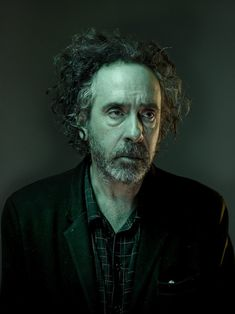 Nadav Kander photographs director Tim Burton for W magazine