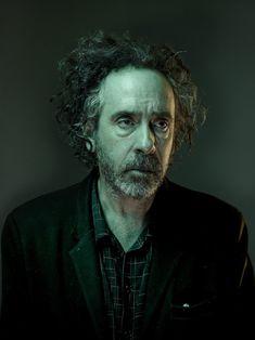 Nadav Kander photographs director Tim Burton for W magazine