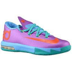 Nike KD VI - Boys\u0027 Grade School - Basketball - Shoes - Laser Purple/