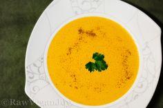 Raw Vegan Joy – Supa de morcov cu curry