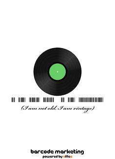 Barcode Vintage: I am not old, I am vintage