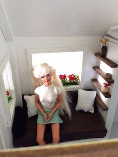 Barbie-Size-12-Doll-Tiny-House-on-Wheels-1-6-Handmade