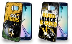 Missouri Tigers Cell Phone Hard Case TWO PACK for Samsung Galaxy S6, Samsung Galaxy S6 Edge