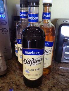 DaVinci Gourmet Sugar Free Blueberry Syrup Review - News - Bubblews