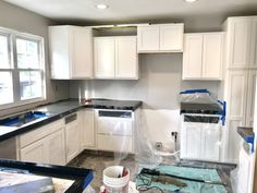 If we do this again we will try pre cast, but sometimes pour in place is the best option. Country Kitchen Cabinets, Farmhouse Kitchen Decor, Kitchen Redo, Kitchen Remodel, Kitchen Ideas, Concrete Countertop Mix, Kitchen Room Design, Kitchen Designs, Upstairs Bathrooms