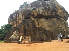 Sigiriya, Sri Lanka. Also known as Lion Rock from the huge stone lion paws that frame the final staircase for the part of the climb up to the top of Sigiriya. A Sri Lankan UNESCO World Heritage sit and an amazing insight into Sri Lanka's fascinating ancient history.