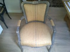R350 for one coat of grey paint on this previously cream armchair