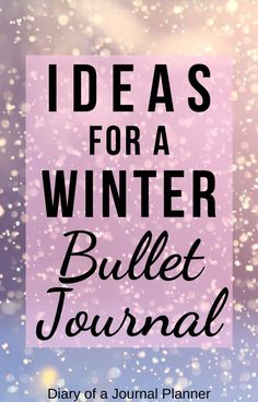 Read here for stunning spreads creative layouts and genius ideas for your next winter-themed bullet journal monthly spread! Bullet Journal And Diary, December Bullet Journal, Bullet Journal For Beginners, Bullet Journal Monthly Spread, Bullet Journal Hacks, Bullet Journal How To Start A, Bullet Journals, Art Journals, Bullet Journal Layout Templates