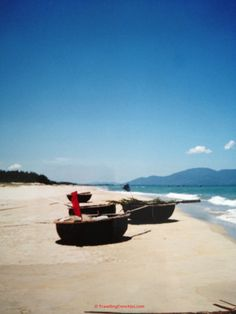 China Beach Vietnam - see Travellingfrenchies.com for more details