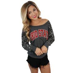 Leopard Sweater Ohio State                                                                                                                                                                                 More