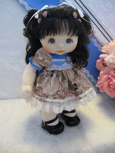 Mattel my child brunette doll... I truly loved this doll. If I could find it today I would buy it...