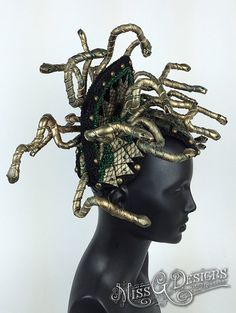 Medusa Headdress by MissGDesignsShop on Etsy