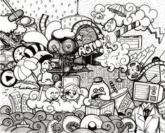 Media doodles