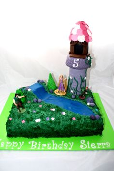 Tangled Cake Carla's Cake Creations -  https://www.facebook.com/pages/Carlas-Cake-Creations/63169956713?ref=hl