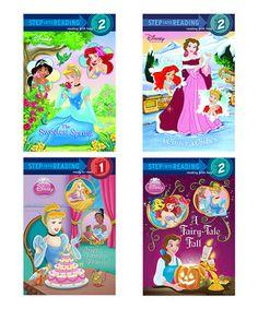 Loving this Disney Princess Sweet Reader Paperback Set on #zulily! #zulilyfinds