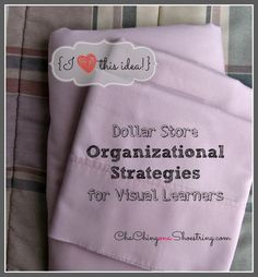 How One Trip To The Dollar Store Saved My Linen Organization Crisis.