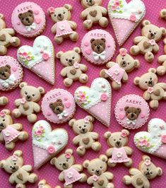 little pink, little hearts and a little more bears