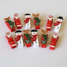 Christmas Design Pegs