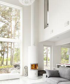 Linnatuli Witka Wood valkoinen Exterior Design, Home Interior Design, Interior And Exterior, Interior Decorating, Interior Inspiration, Interior Ideas, My Dream Home, Living Room, Wood