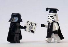 Lego star wars - graduation on the dark side