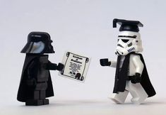 Lego star wars - graduation on the dark side
