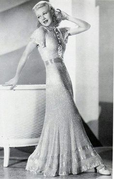 Ginger Rogers - gorgeous and classy.