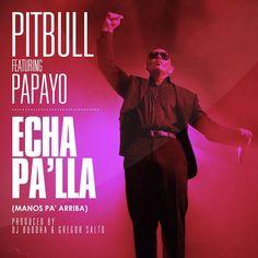 "Pitbull Feat. Papayo ""Echa Pa'lla (Manos Pa' Arriba) (Prod. by DJ Buddha & Gregor Salto)"""