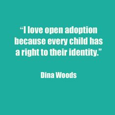 Our sister sister site, America Adopts!, asked its readers to share what they loved about open adoption using the hashtag #ILoveOpenAdoption. Here's what they said on Facebook, Twitter and Instagram.