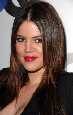 khloe kardashian hair color