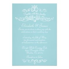 Simple Luxury Blue And White Wedding Invitations you will get best price offer lowest prices or diccount couponeDiscount Deals          Simple Luxury Blue And White Wedding Invitations today easy to Shops & Purchase Online - transferred directly secure and trusted checkout...