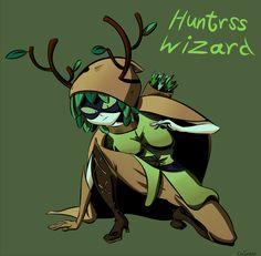 I love fandoms — HW :) Adventure Time Huntress Wizard