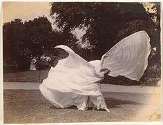 Samuel Joshua Beckett (British, 1870–1940). [Loie Fuller Dancing], ca. 1900. The Metropolitan Museum of Art, New York. Gilman Collection, Purchase, Mrs. Walter Annenberg and The Annenberg Foundation Gift, 2005 (2005.100.950) #dance