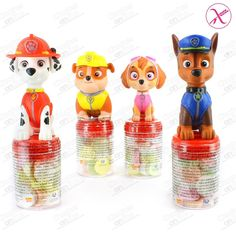 MINI TOPPERS PATRULLA CANINA 20 UDS