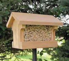 Gravity Bird Feeder - Popular Woodworking Magazine