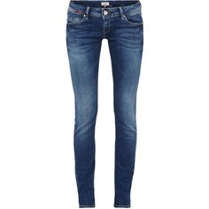 Stone Washed Skinny Fit Jeans ❤ liked on Polyvore featuring jeans, cut skinny jeans, blue jeans, denim skinny jeans, blue skinny jeans and stonewash jeans
