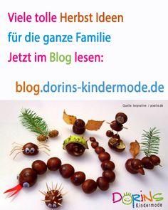 Viele Ideen für den Herbst - jetzt im Blog http://blog.dorins-kindermode.de/?p=312