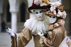 Venetian Masks. Couple by Denis Cherkashin on 500px