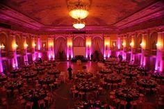 Twilight Lighting & Design: Room Uplighting for Weddings and Events Diy Wedding Lighting, Event Lighting, Wedding Reception Decorations, Lighting Concepts, Stage Lighting, Reception Ideas, Lighting Ideas, Lighting Design, Wedding Venues
