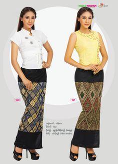 Myanmar Cotton | Hello Madam Catalogue | Myanmar Silk, Myanmar Silk Style, Myanmar Traditional, Myanmar Wedding Dress, Myanmar Fancy Dress , Myanmar Women Affair, Bataik, Gown & Skirt, Myanmar Cotton, Myanmar Zar, Singer Fashion, Skirt, Special color