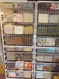Fat Quarter Organization in the Sewing Studio is a Beautiful Thing - Sew Daily - Blogs - Sew Daily