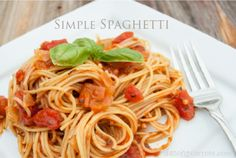 Simple Spaghetti - dancing carrots