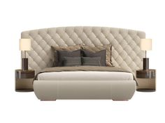 Double bed with upholstered headboard KESY XL Kesy Collection by Capital Collection by Atmosphera