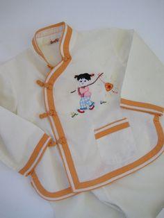 Vintage Toddler Pant Sleep Set China Doll Pant by pinebrookvintage, $10.00