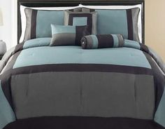 Modern? Contemporary? If so, then this is the look for you. #AnnasLinens #Bedding