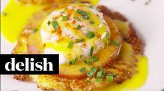 Cooking Cauliflower Benedict Video – Cauliflower Benedict Recipe How To Video Breakfast Items, Low Carb Breakfast, Breakfast Recipes, Paleo Recipes, Low Carb Recipes, Cooking Recipes, Cauliflower Dishes, Cooking Cauliflower, Brunch